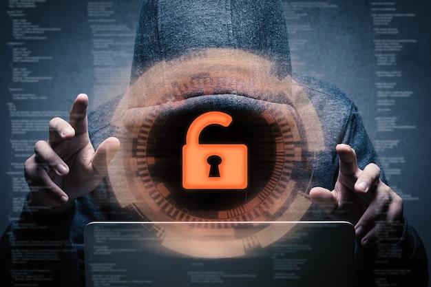 3d-рендеринг разблокировки клавиатуры для успешного хакера