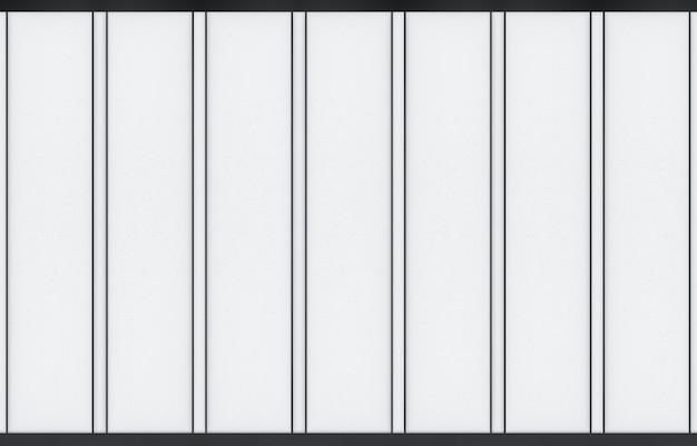 3d rendering. modern oriental design parellel shape pattern paper wall door.