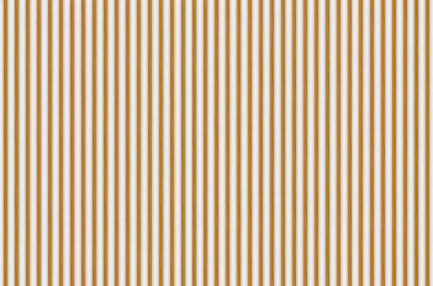 3dレンダリング。白のモダンな平行木製パネル壁デザインテクスチャ。