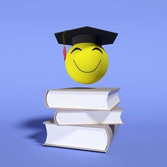 3d 렌더링. 국가 교육의 날 .1