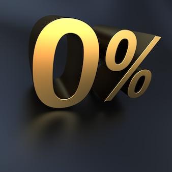 3d-рендеринг 0% металлической текстуры на черном фоне