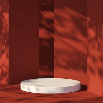 3d-рендеринг абстрактной композиции для презентации продукта