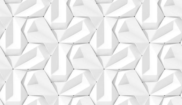 3d-рендеринг абстрактного узора