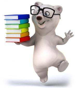 3d-рендеринг милый медведь