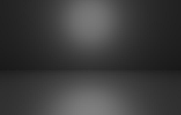 空の黒の抽象的な最小限の概念の背景の3dレンダリング