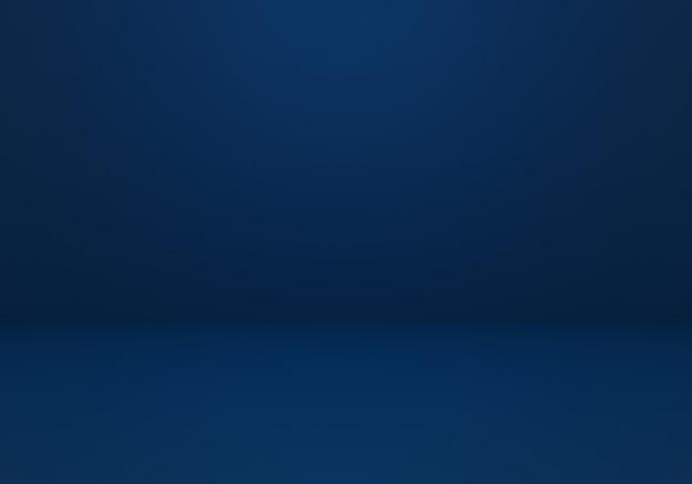 空の濃い青の抽象的な最小限の概念の背景の3dレンダリング