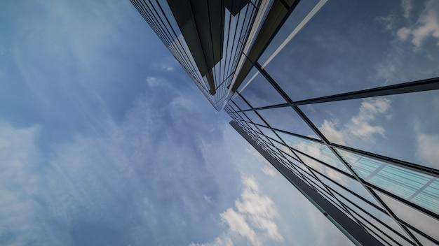 3d-рендеринг внешней визуализации здания небоскреба