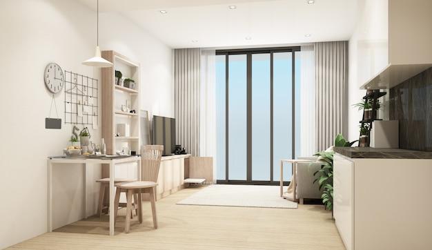 3d рендеринг современной гостиной в современном стиле
