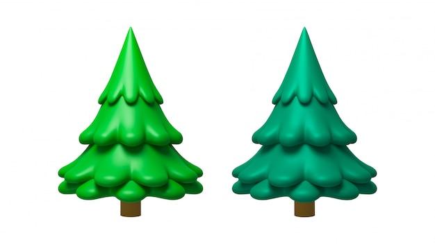 松の木の3 dレンダリング