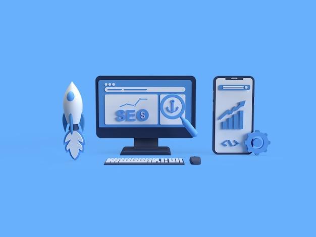 3d-рендеринг поисковой оптимизации