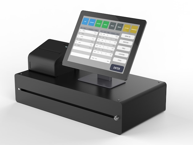 매장 관리를 위한 3d 렌더링 pos 시스템