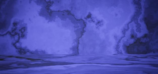 3d 렌더링 보라색 시멘트 배경