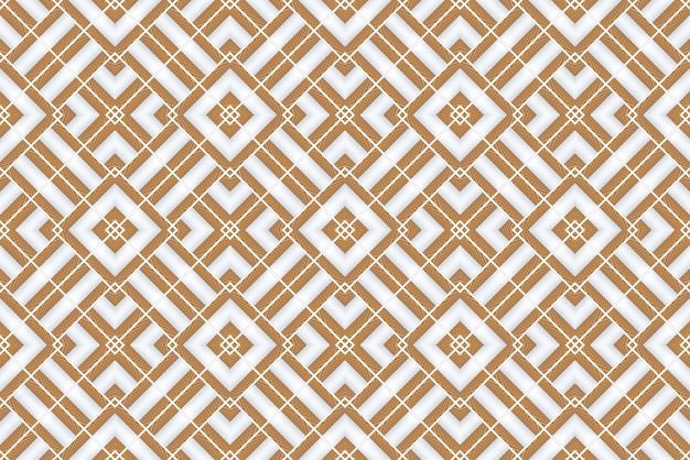 3d rendering. seamless modern wood square grid pattern design tiles wall  background.