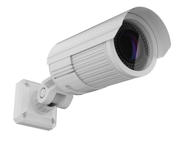 3d-рендеринг камеры безопасности или камеры видеонаблюдения