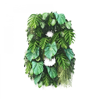 3d rendering of vertical garden number 8