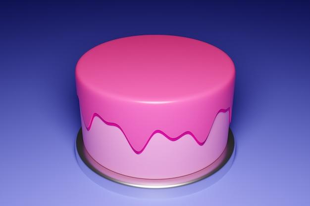 3d rendering   wedding cake