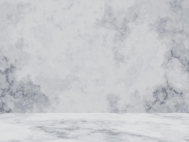 3d 렌더링. 흰색 시멘트 벽 배경