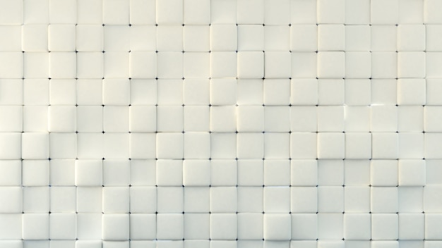 3d rendering of white textured background