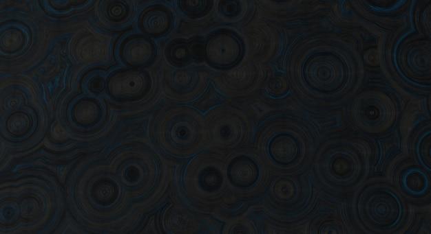 3d rendering with black-blue dark wallpaper