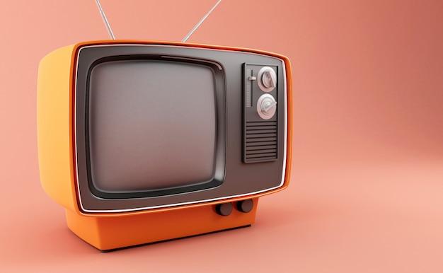 3d retro tv