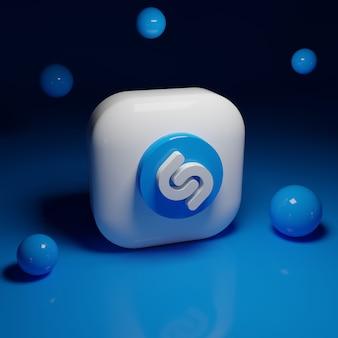 Приложение с логотипом shazam