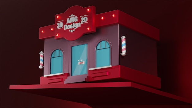 3d shop for shopping and more