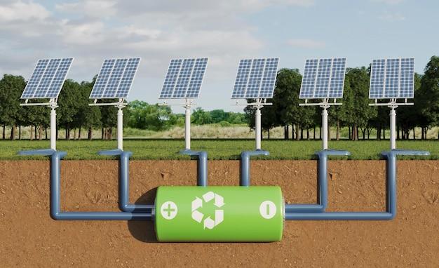 Проект 3d солнечных панелей для энергосбережения