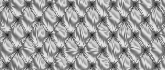 3d steel tufted background