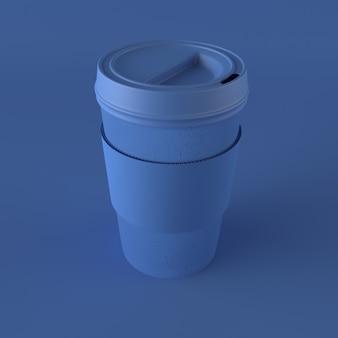 3d чашка кофе на вынос