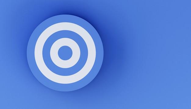 3d target. успех в концепции бизнеса.