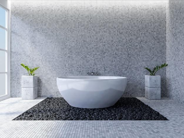 3d toilet interior design