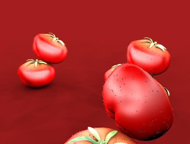 3d tomato