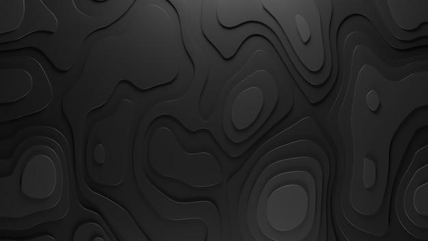 Рельеф 3d топологии фон