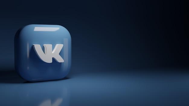 3d vk 응용 프로그램 로고