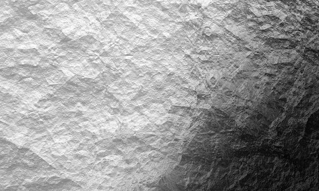 3d白と黒の斜めの光沢のある石のテクスチャ、高品質