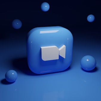 Приложение с логотипом 3d zoom