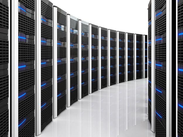 Сервер 3d фон
