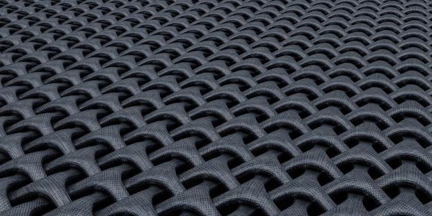 3d幾何学的な織り目加工の抽象的な壁紙の背景