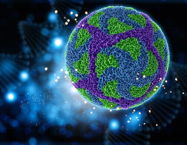 3d вирус зика