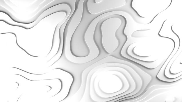 3dトポロジーのレリーフの背景