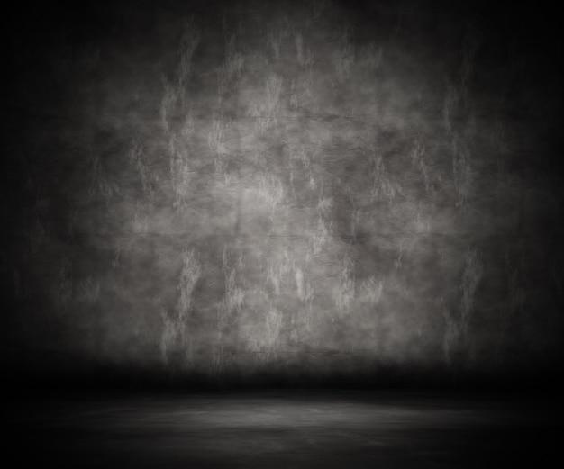 3d-рендеринг интерьера комнаты гранжа