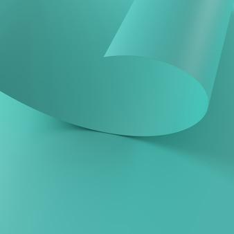 紙の抽象的な背景。 3dレンダリング。