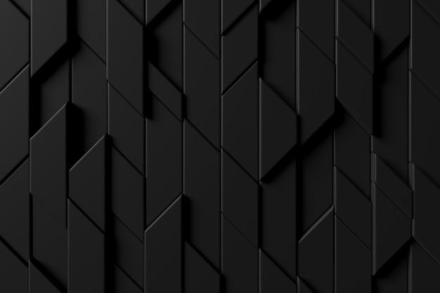 モダンなタイル壁の抽象的な背景。 3dレンダリング。