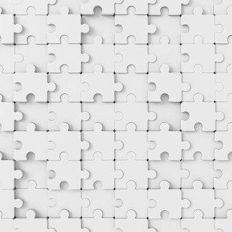 ジグソーパズルの抽象的な背景。 3dレンダリング。