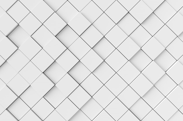 Абстрактный фон из кубиков. 3d рендеринг.