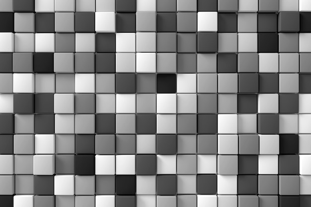 現代の壁の抽象的な背景。 3dレンダリング。