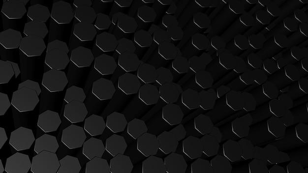 3d стиль фона из шестиугольников
