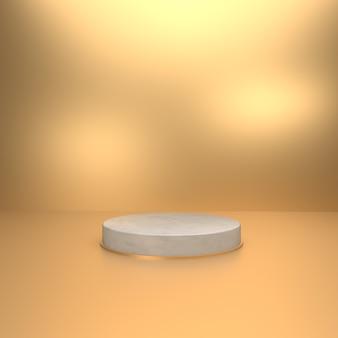 製品ショーケースの3d背景