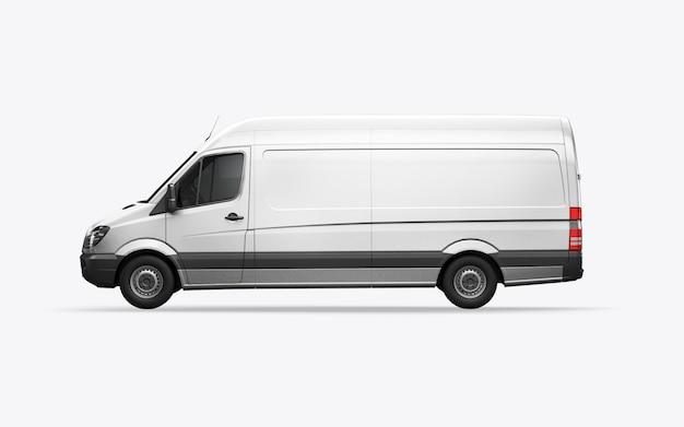 3d визуализация фургон