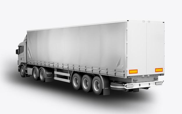 3d визуализация грузовика